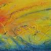 œuvre de Chantal Lebrun Titre : Au fil du temps