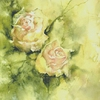 œuvre de Marie Jeane Bronzini Titre : Roses