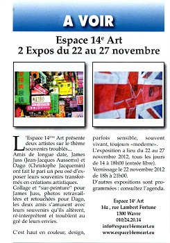 expo dago et james juss