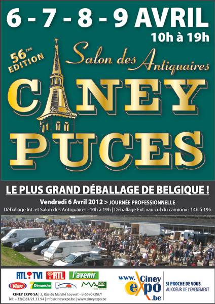 salon des Antiquaires de Ciney 2012